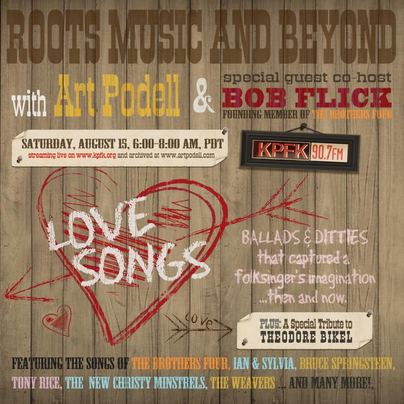 Love Songs with co-host Bob Flick