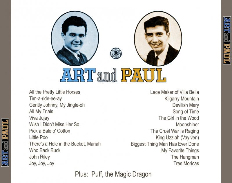 Art and Paul Song list