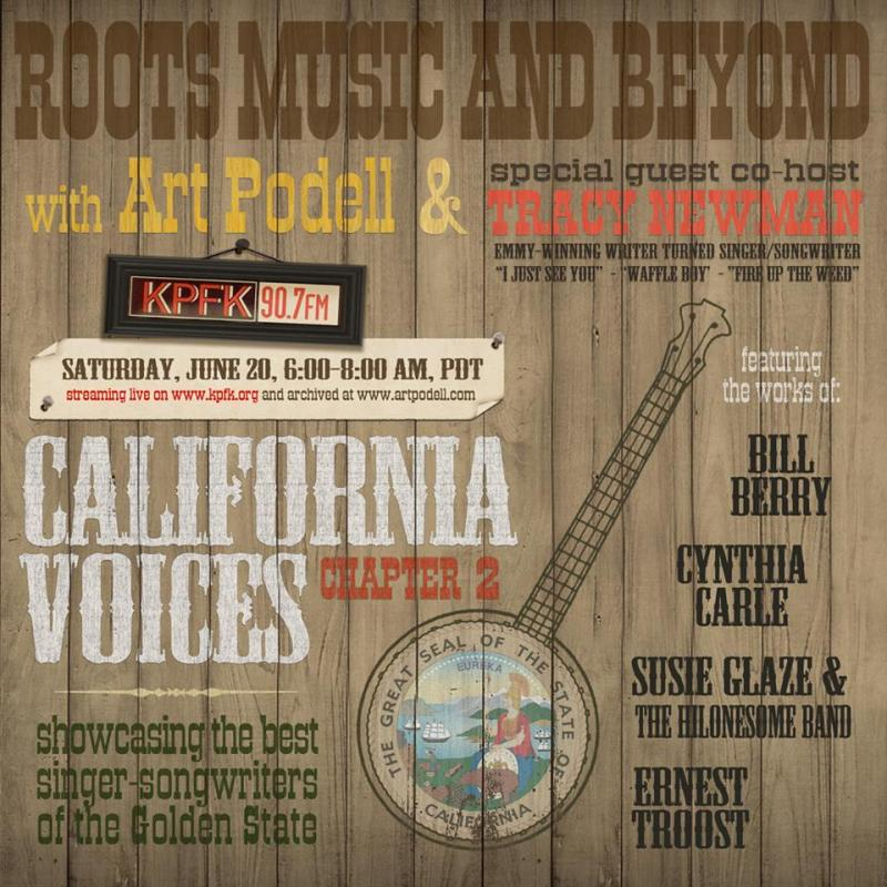 California Voices II poster