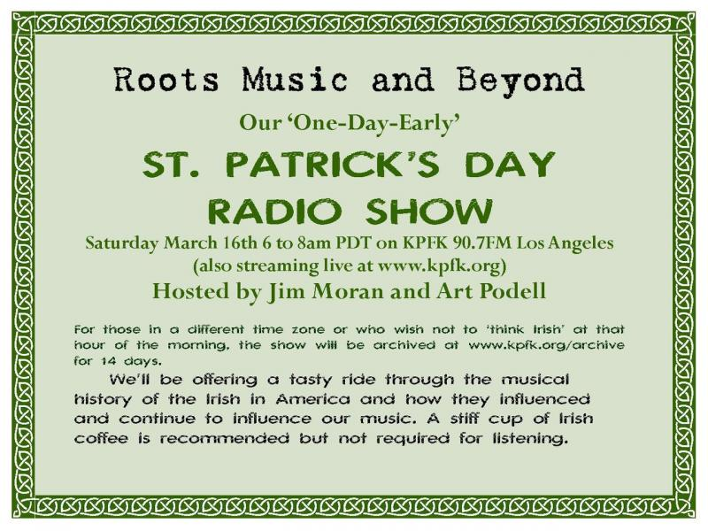 St. Pat's Day Graphic